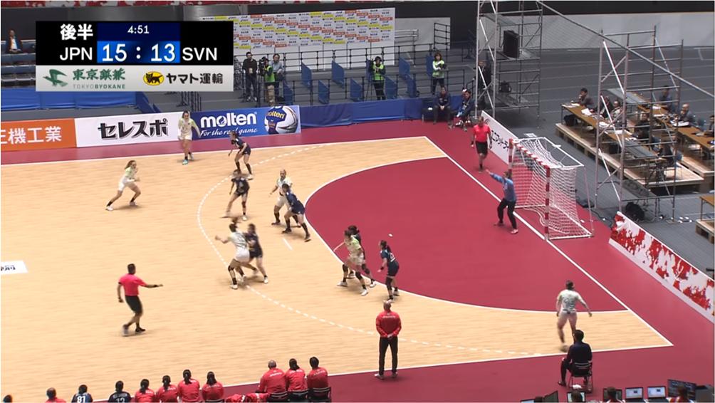 東京鋲兼 ハンドボール スポンサー
